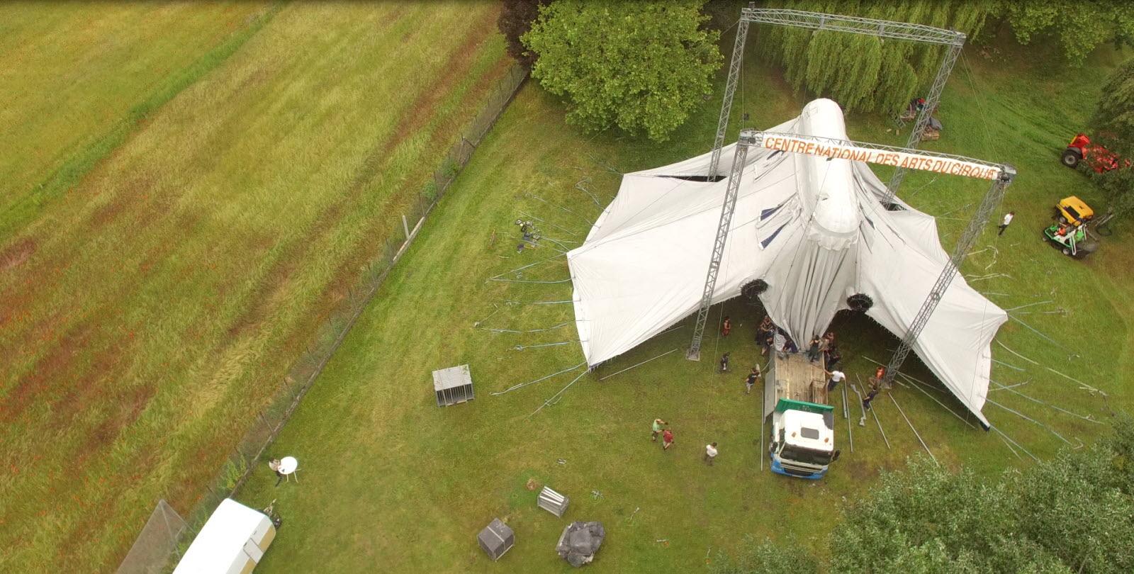 drone cirque Montigny Les Metz